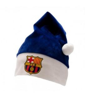 Čiapka FC Barcelona - vianočná