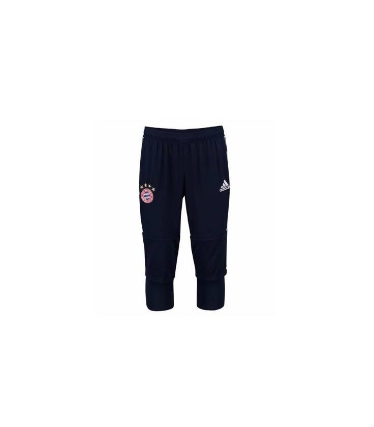 Tréningové trojštvrťové nohavice Bayern Mníchov - tmavomodrá