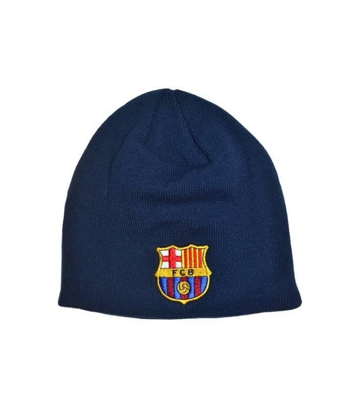 Čiapka FC Barcelona - tmavomodrá