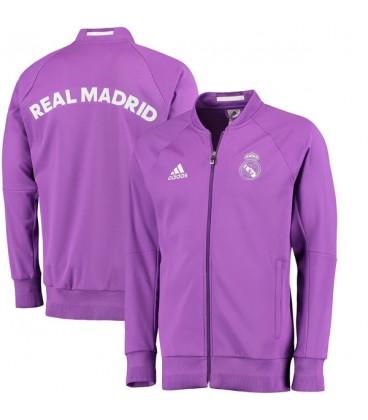 c1e9b48e2 Real Madrid - mikina na zip - fialová L