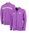 Real Madrid - mikina na zips - fialová