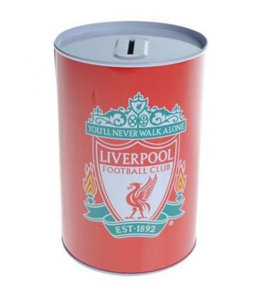 Spornička v tvare plechovky FC Liverpool