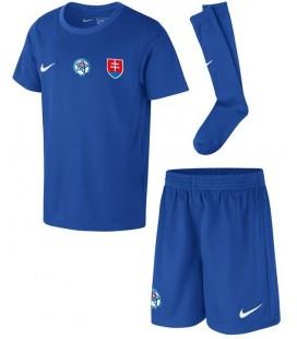 Slovensko vonkajší detský futbalový dres + trenírky + štucne