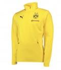 Flísová vetrovka Borussia Dortmund - žltá