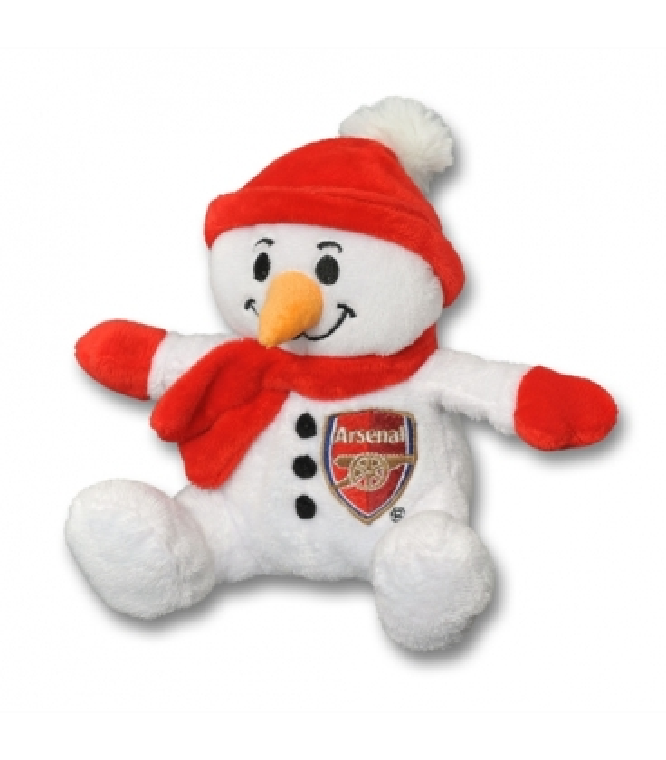 Snehuliak Arsenal Londýn