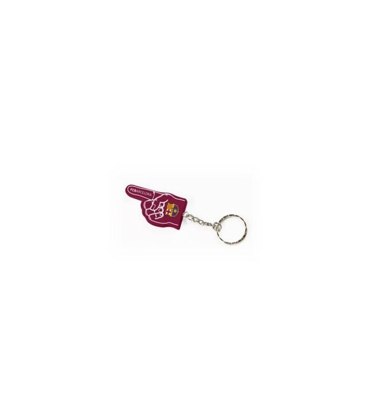 Prívesok na kľúče FC Barcelona - ruka