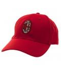 Šiltovka AC Miláno - červená