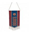 Mini vlajka FC Barcelona
