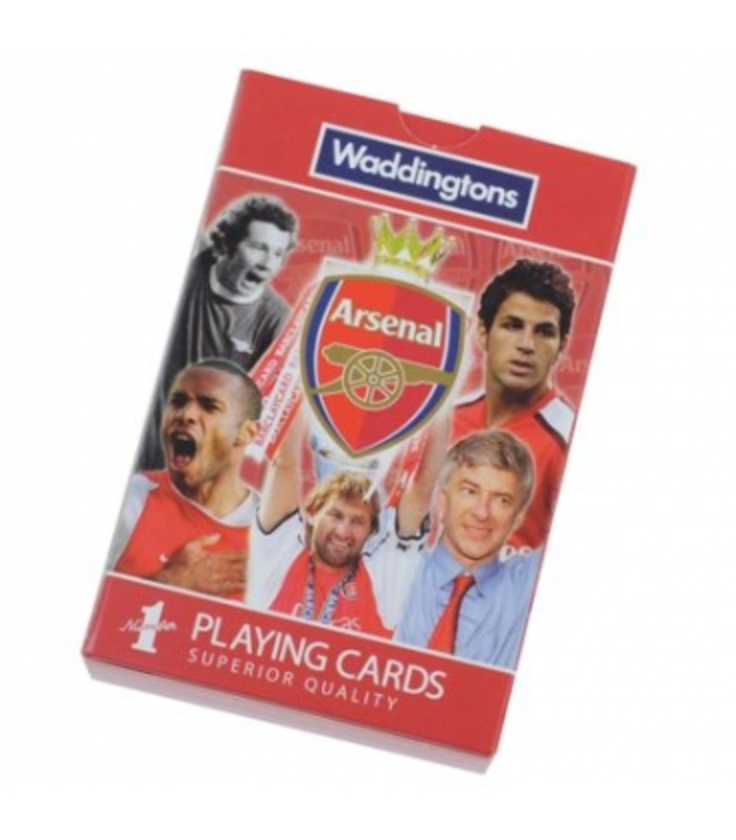 Karty Arsenal Londýn