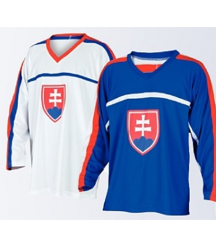 0d40b7362d210 Hokejový dres Slovensko - modrý