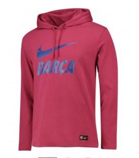 Mikina s kapucňou FC Barcelona - červená