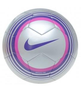 Futbalová lopta Nike Mercurial Fade - strieborná