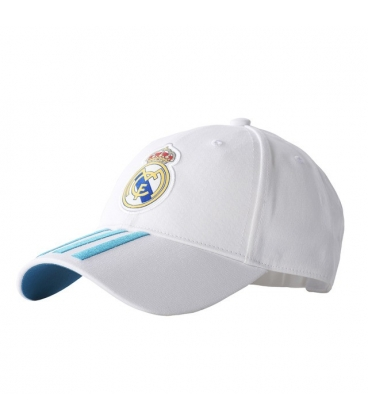 Šiltovka Adidas Real Madrid - biela/tyrkysová