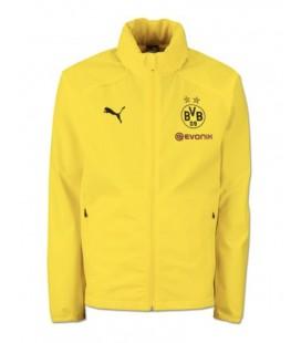 Nepremokavá vetrovka Borussia Dortmund - žltá