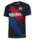 Predzápasový dres FC Barcelona - tmavomodrá