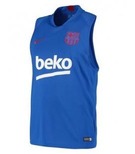 Tréningový dres bez rukávov FC Barcelona - modrá