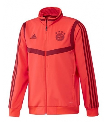 Predzápasová mikina na zips Bayern Mníchov