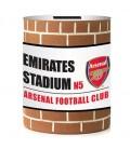 Spornička v tvare plechovky Arsenal Londýn