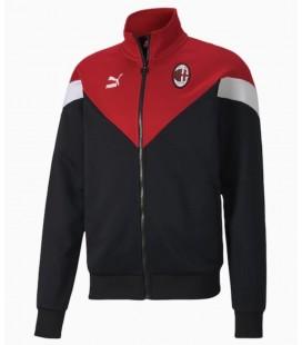 Mikina na zips AC Miláno