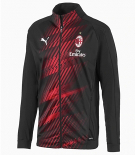 Tréningová mikina na zips AC Miláno