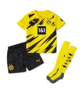 Borussia Dortmund domáci detský futbalový dres + trenírky + štucne