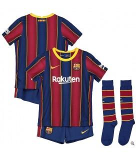 FC Barcelona domáci detský futbalový dres + trenírky + štucne