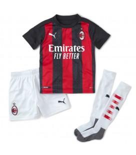 AC Miláno domáci detský futbalový dres + trenírky + štucne