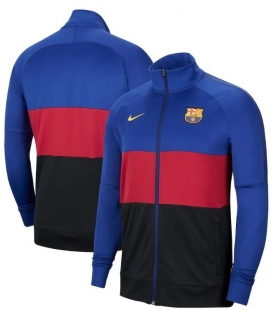 Mikina na zips FC Barcelona Authentic