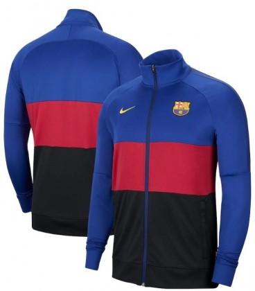 Mikina na zips FC Barcelona Authentic