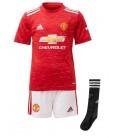 Manchester United domáci detský futbalový dres + trenírky + štucne