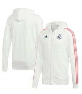 Mikina na zips s kapucňou Real Madrid
