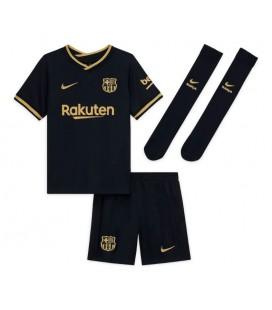 FC Barcelona vonkajší detský futbalový dres + trenírky + štucne
