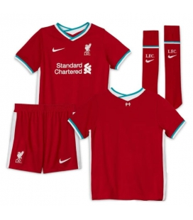 FC Liverpool domáci detský futbalový dres + trenírky + štucne