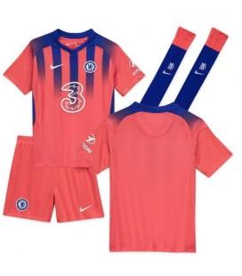 Chelsea Londýn tretí detský futbalový dres + trenírky + štucne