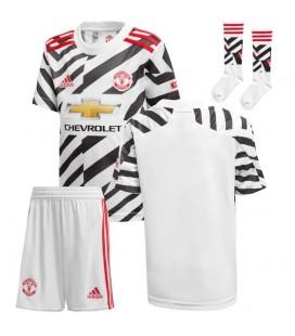 Manchester United tretí detský futbalový dres + trenírky + štucne
