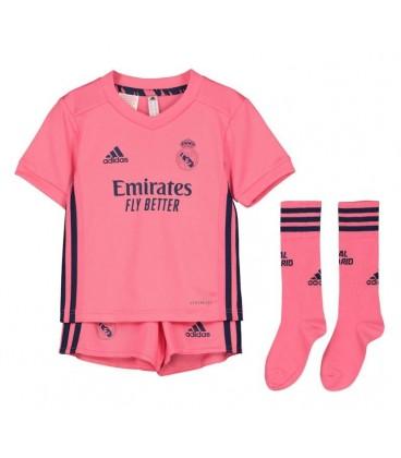 Real Madrid vonkajší detský futbalový dres + trenírky