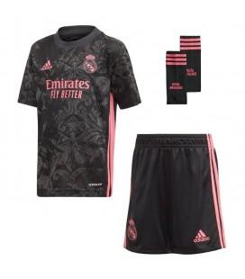 Real Madrid tretí detský futbalový dres + trenírky + štucne
