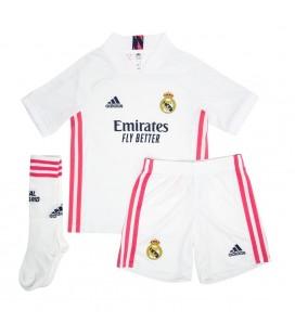 Real Madrid domáci detský futbalový dres + trenírky + štucne