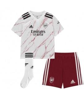 Arsenal Londýn vonkajší detský futbalový dres + trenírky + štucne