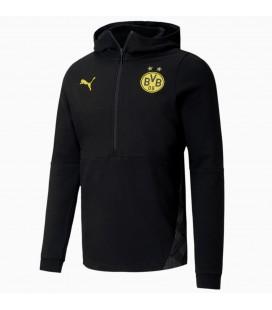 Mikina s kapucňou na zips Borussia Dortmund