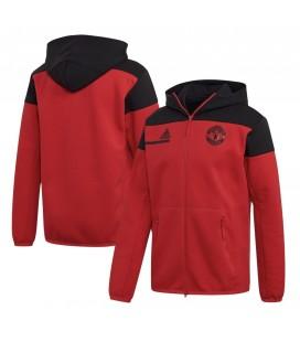 Mikina na zips s kapucňou Manchester United