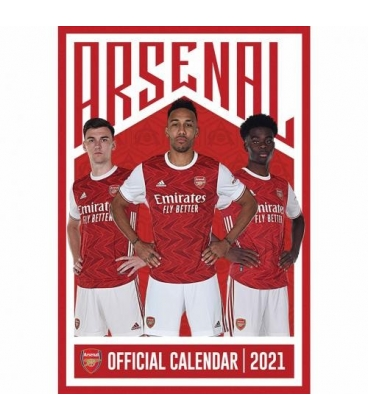Kalendár Arsenal Londýn na rok 2021