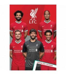 Kalendár FC Liverpool na rok 2021