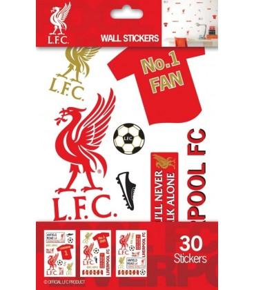 Nálepky na stenu FC Liverpool