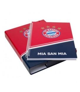 Zakladač + poznámkový blok Bayern Mníchov