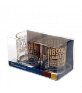 Poháre na whisky FC Barcelona
