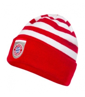 Čiapka Bayern Mníchov - červená/biela