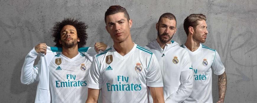 Oblečte sa ako majstri: Adidas odhaľuje nové dresy Real Madrid na sezónu 2017/18