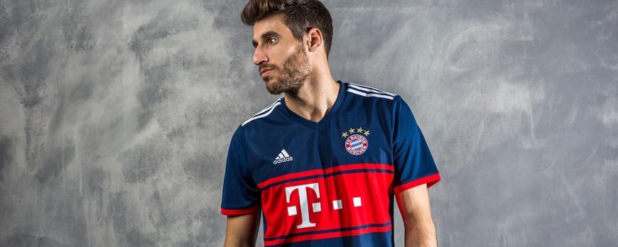 Adidas predstavil Nové dresy FC Bayern Mníchov na sezónu 2017/18
