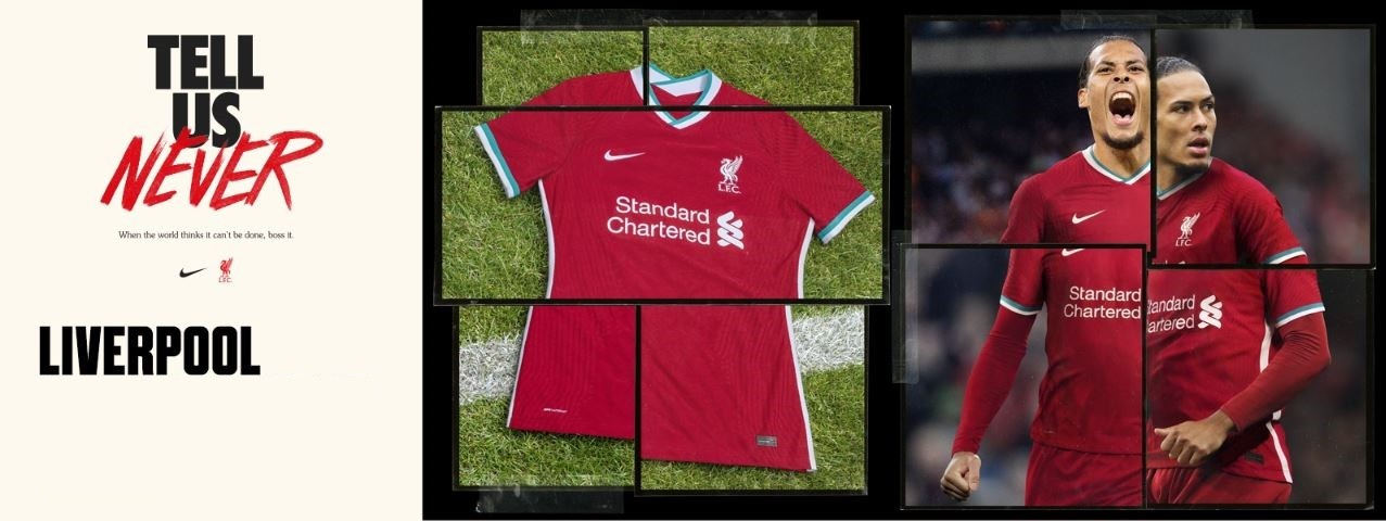 FC Liverpool domáci dres 2020/21